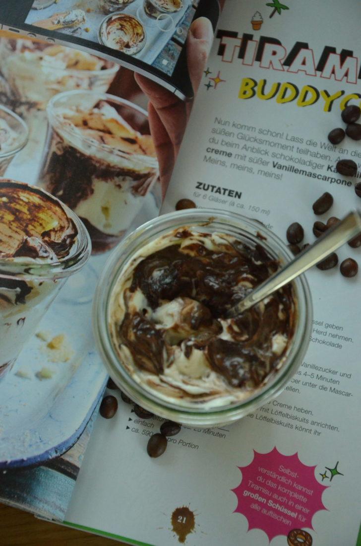 Leckeres Dessert Tiramisu Buddycups