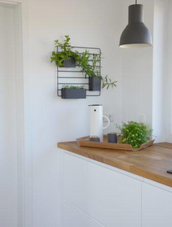 Kräuterregal in skandinavischem Design
