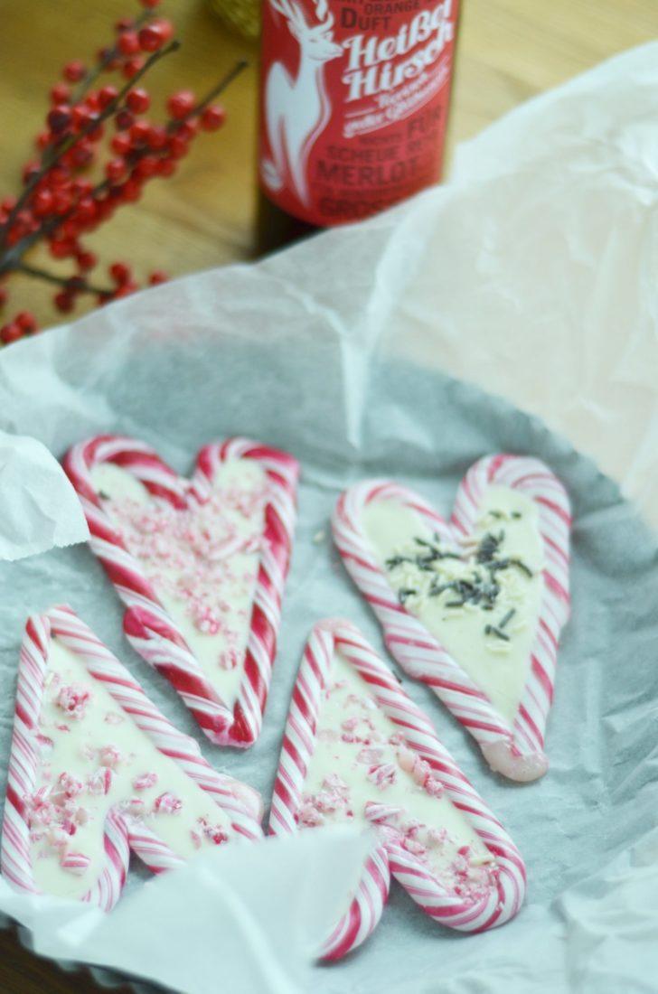 Frau Piepenkötter I Weihnachten I Zuckerstangen