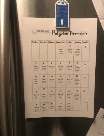 Frau Piepenkötter räumt auf I November I Magische Küchenspüle